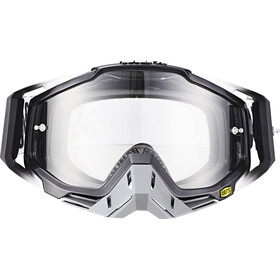 100% Racecraft Anti Fog Clear Goggles abyss black